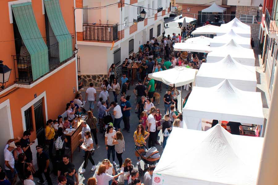 Montanejos se consolida como la gran fiesta del queso artesano valenciano